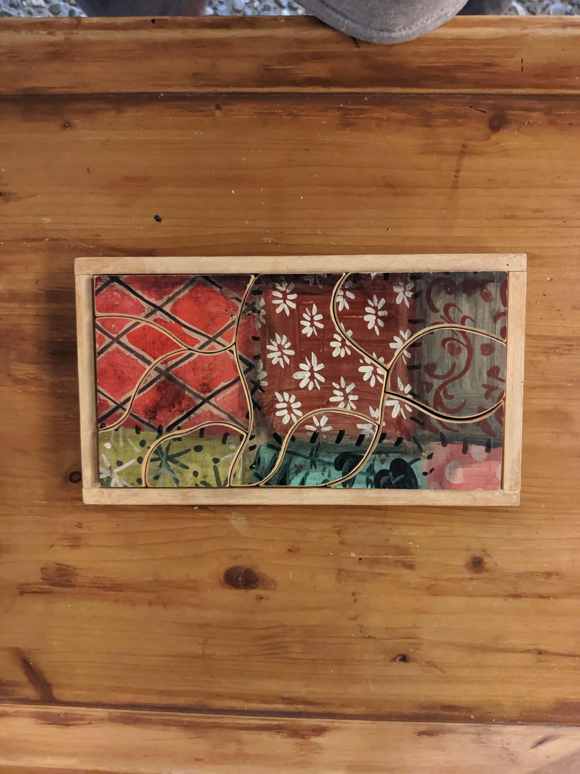 Ξύλινο παζλ / wooden puzzle