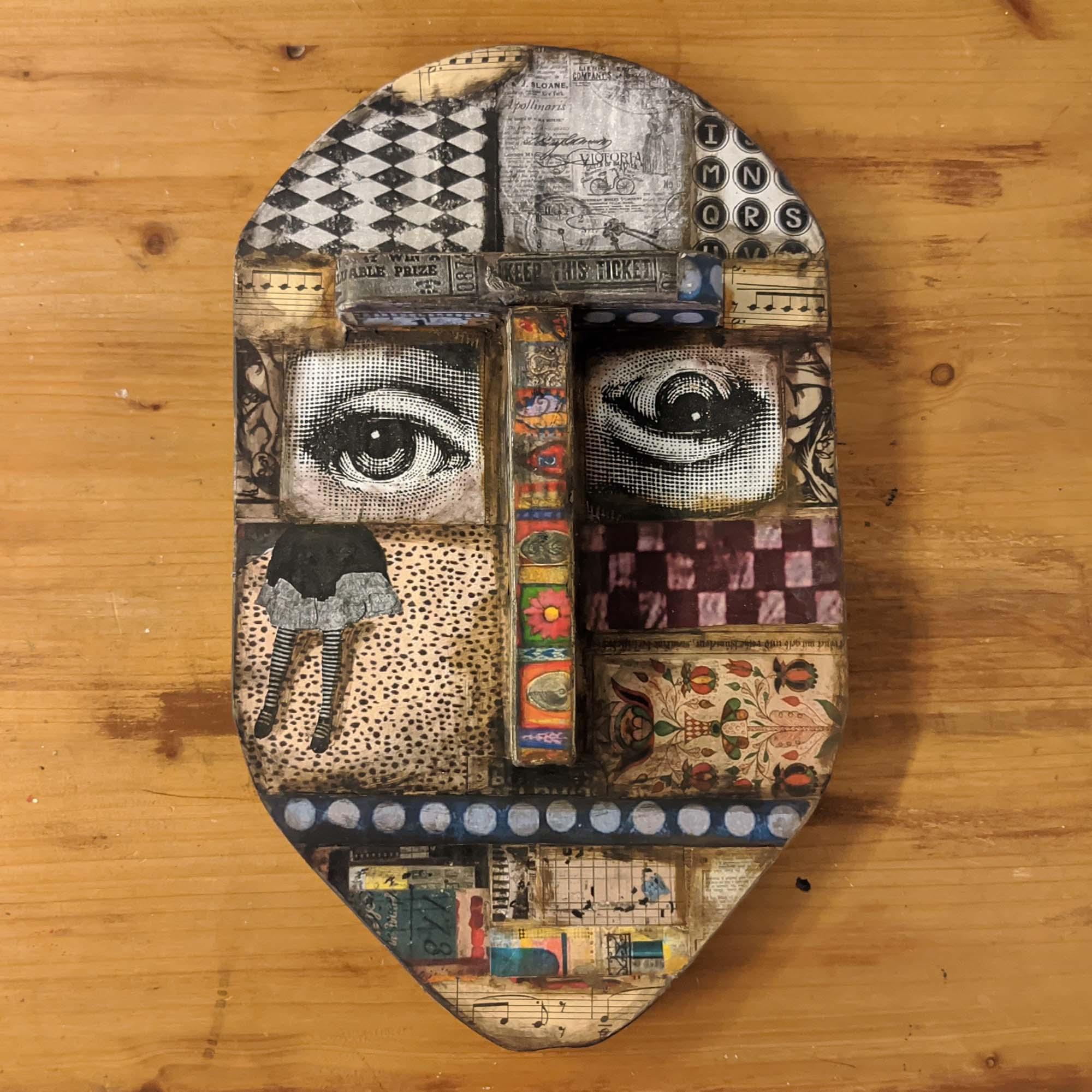 Ξύλινη μάσκα – Wooden masque