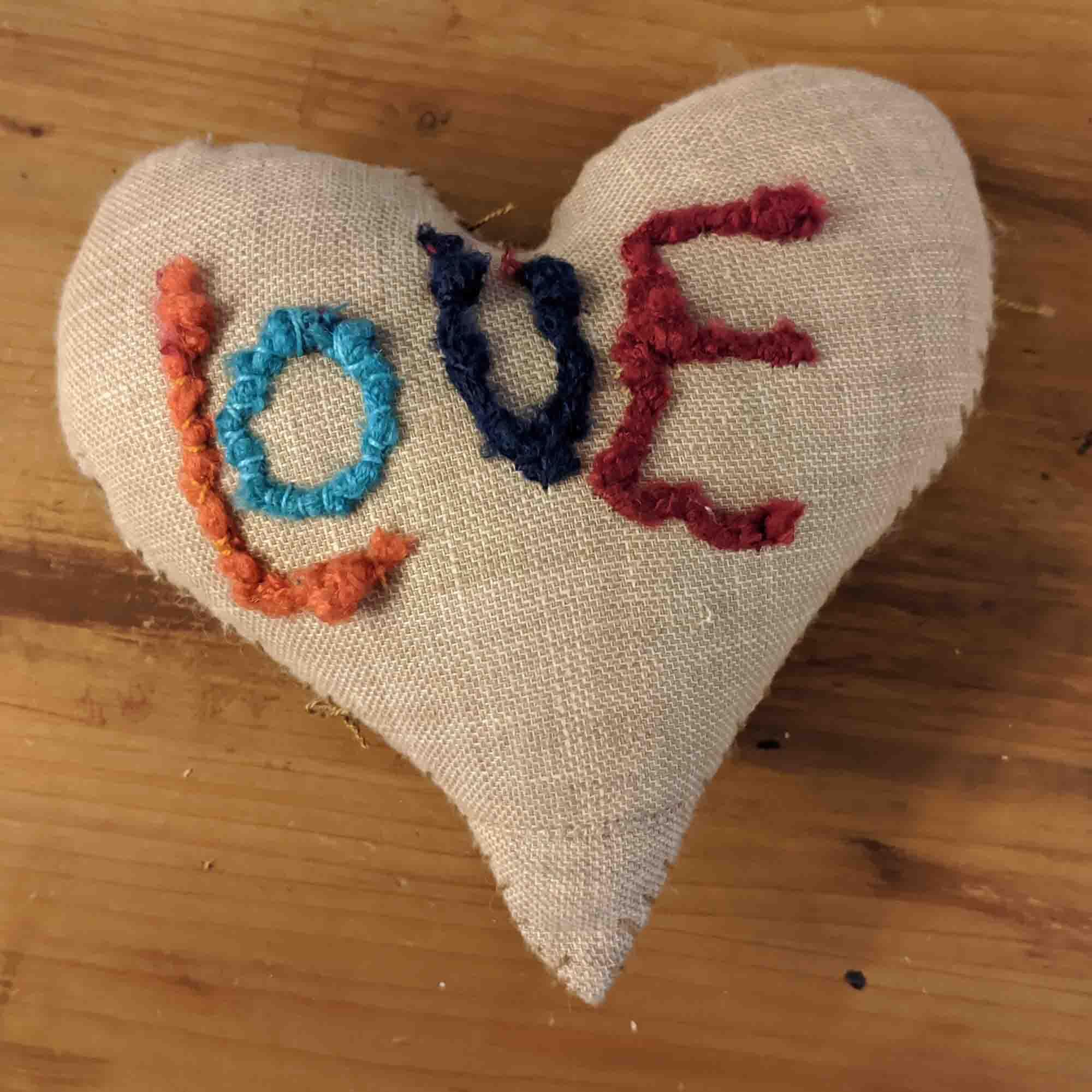 Καρδιά μαξιλάρι / Love Pillow