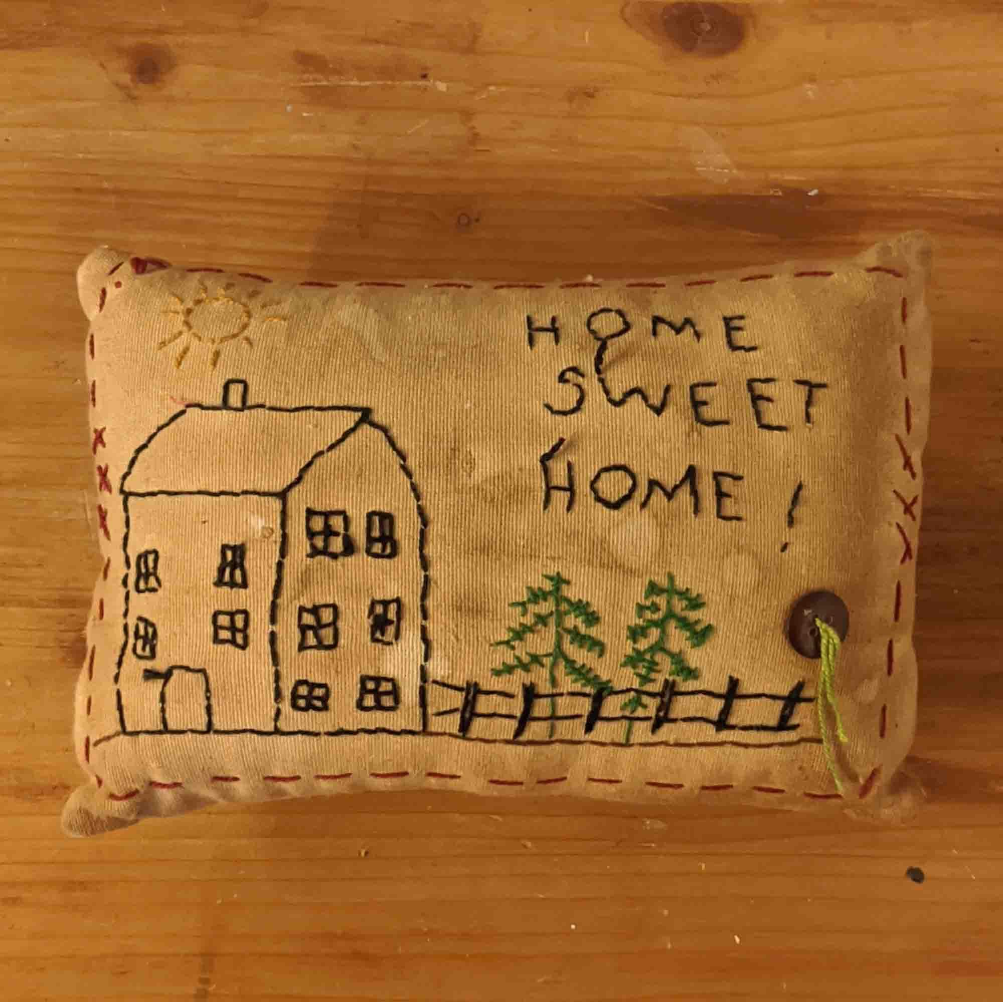 Μαξιλάρι –  Pillow, home sweet home