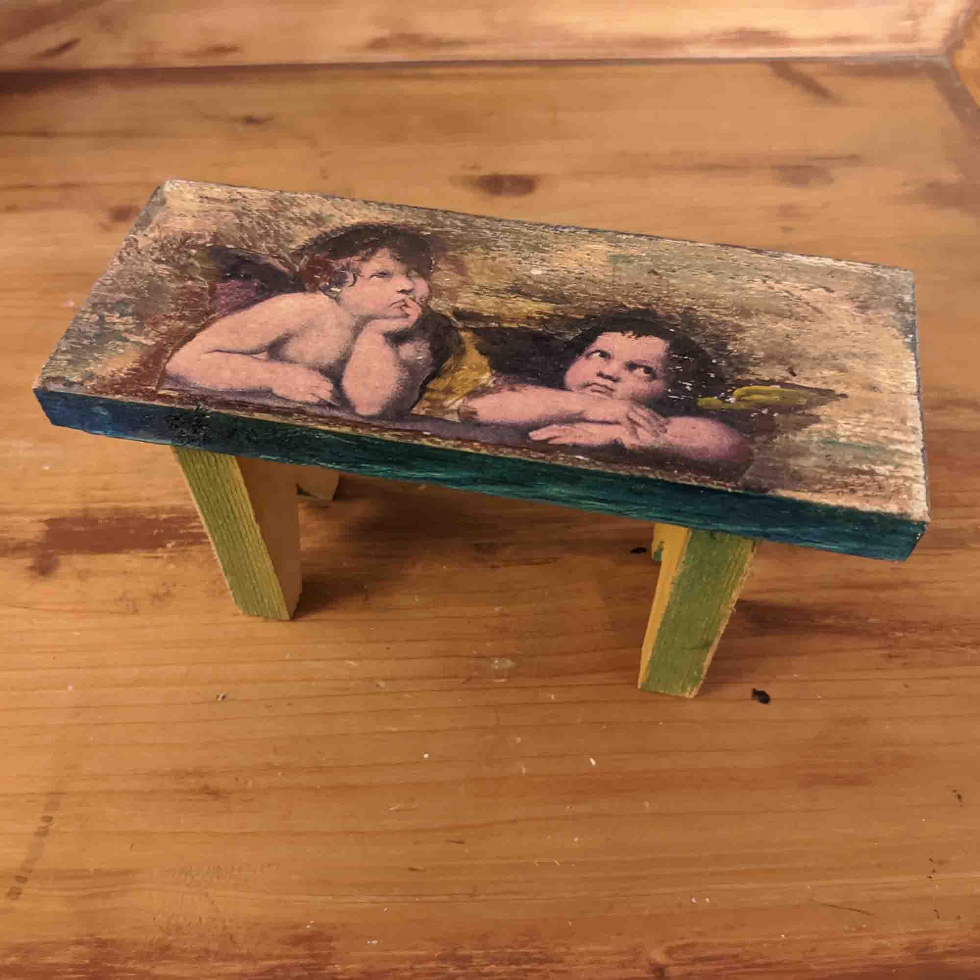 Σκαμνί 3 / small stool