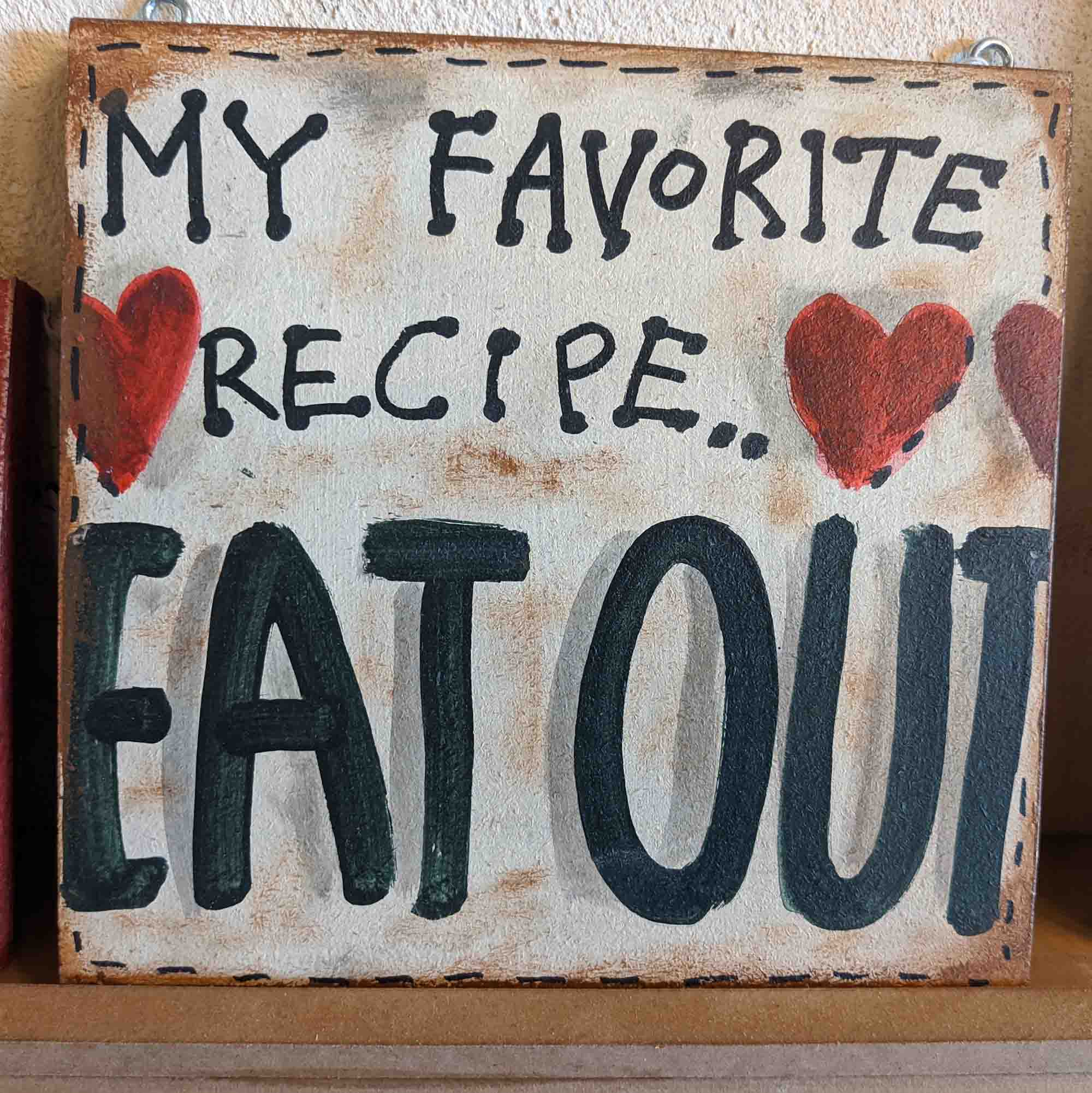 MY FAVORITE RECIPE…