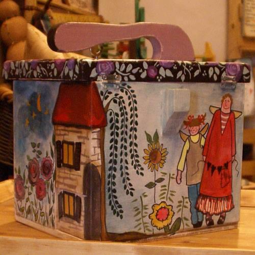 Νεσεσέρ ξύλινο /wooden handbag