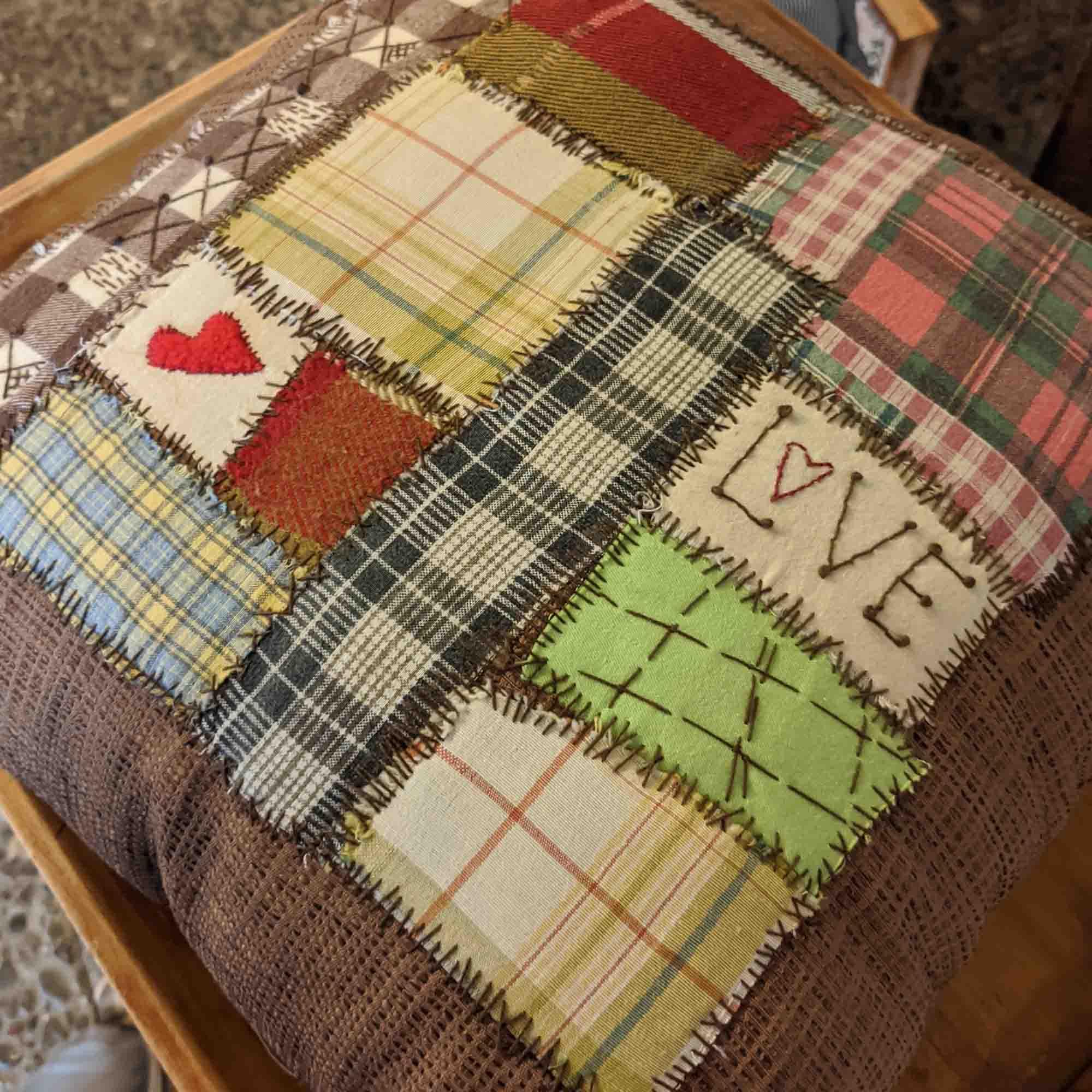 Μαξιλάρι / patchwork pillow
