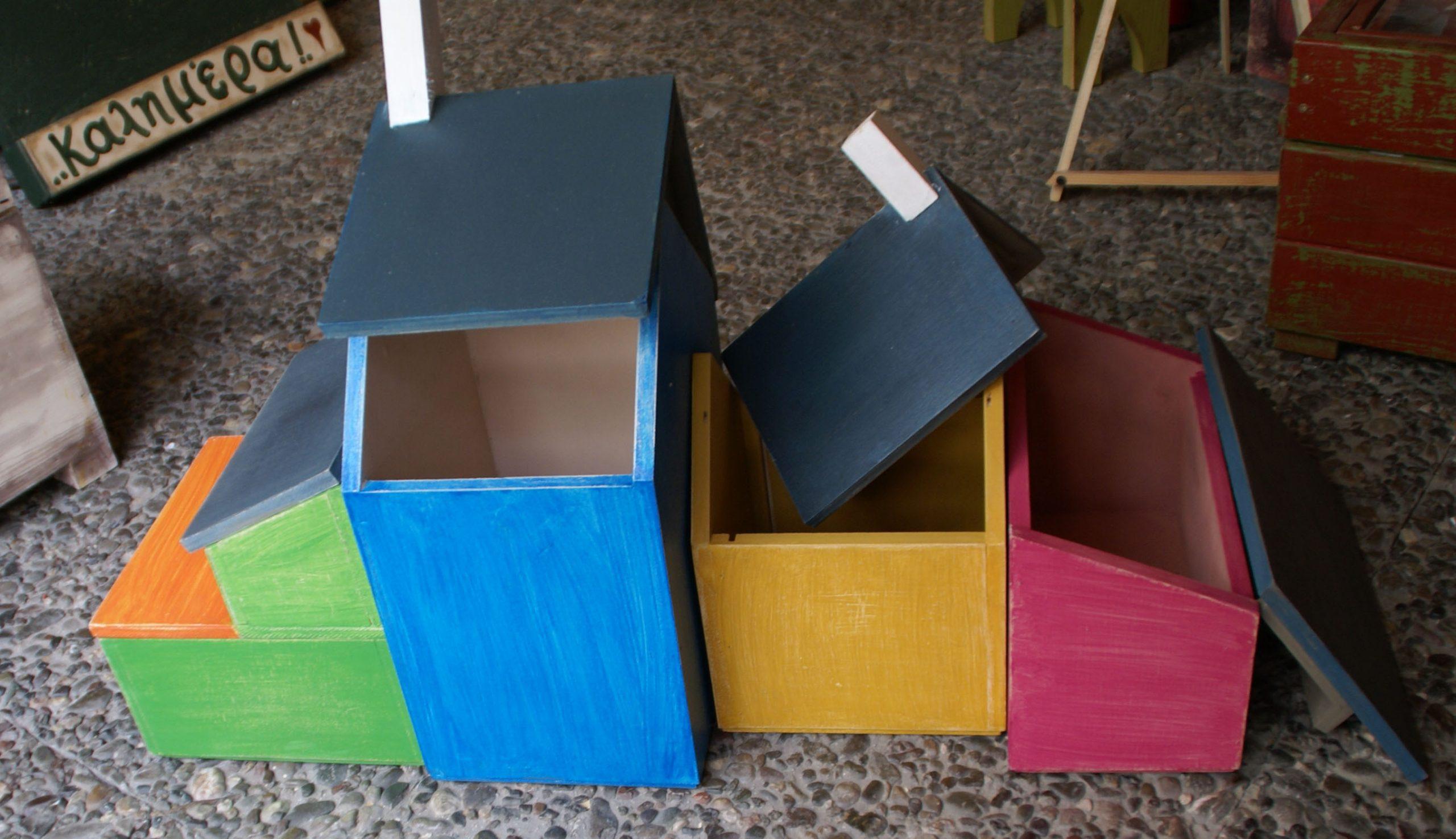 Κουτιά αποθήκευσης / STORAGE BOXES