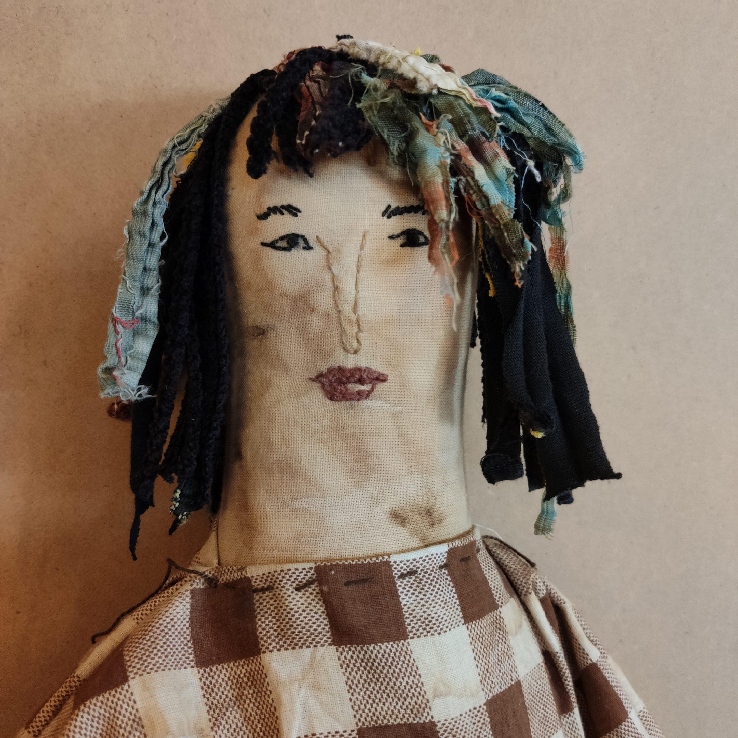 Υφασμάτινη Κούκλα, με αγάπη – Fabric doll, with love