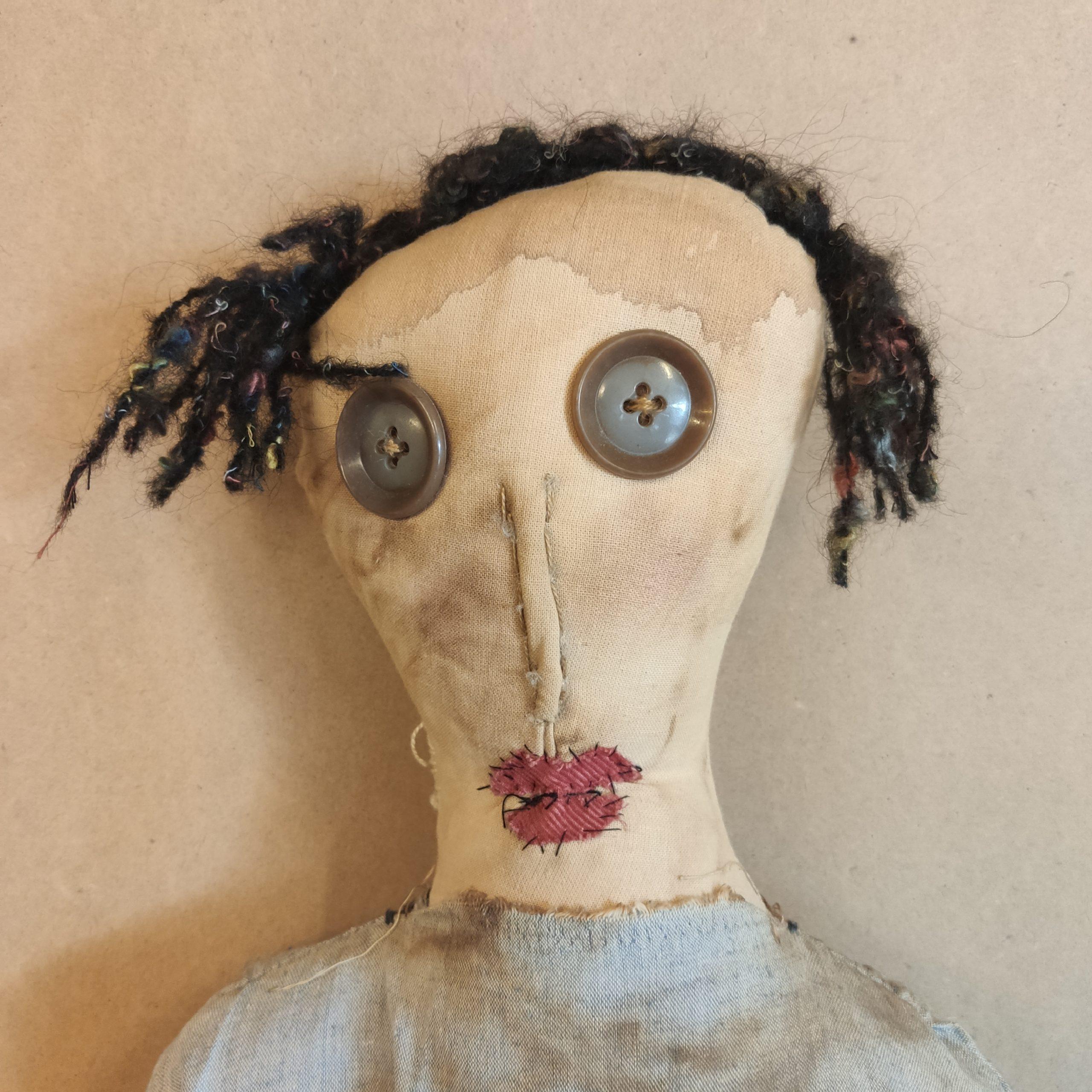 Υφασμάτινη Κούκλα – Fabric  doll