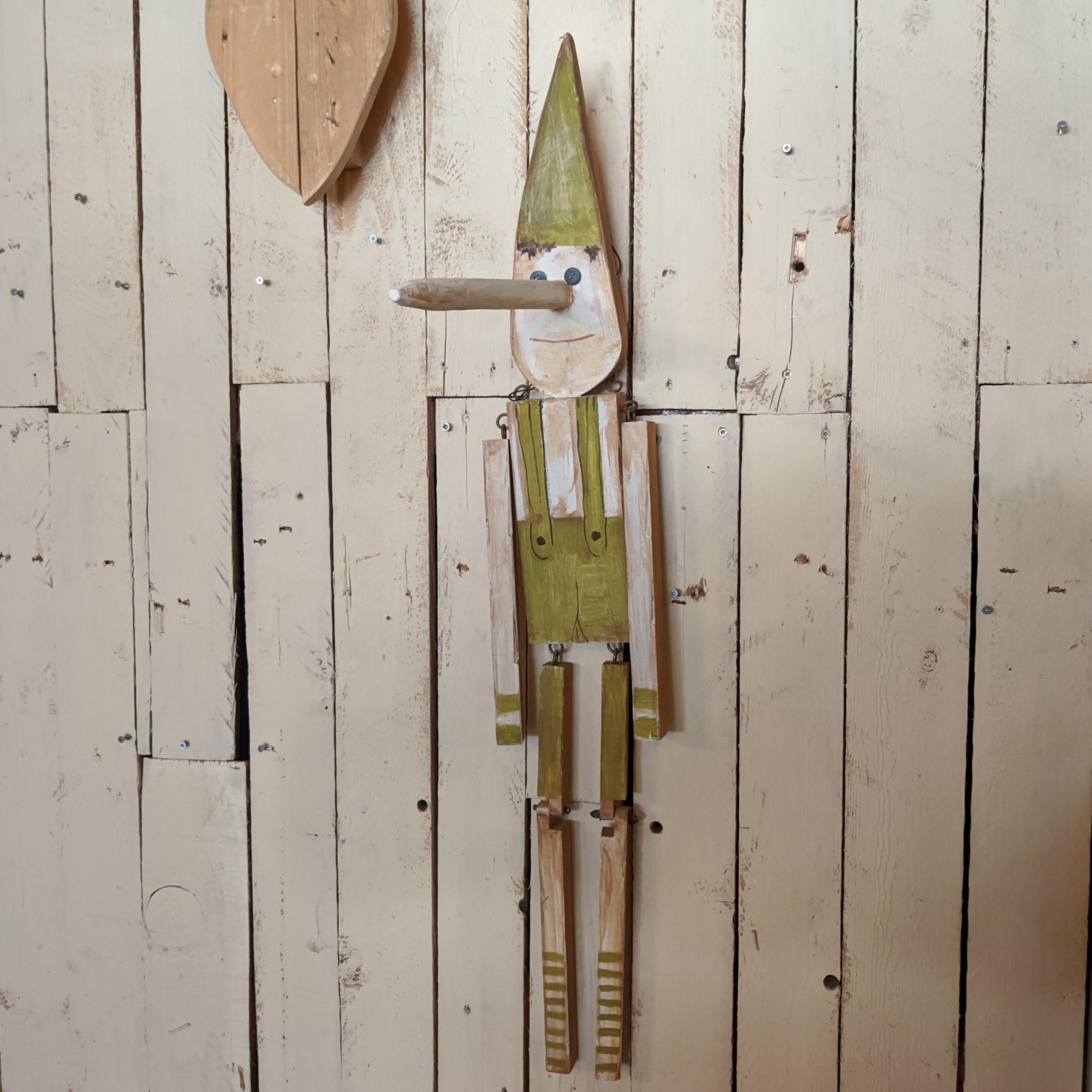 Ξύλινη μαριονέτα, Πινόκιο – Hand painted wooden marionette