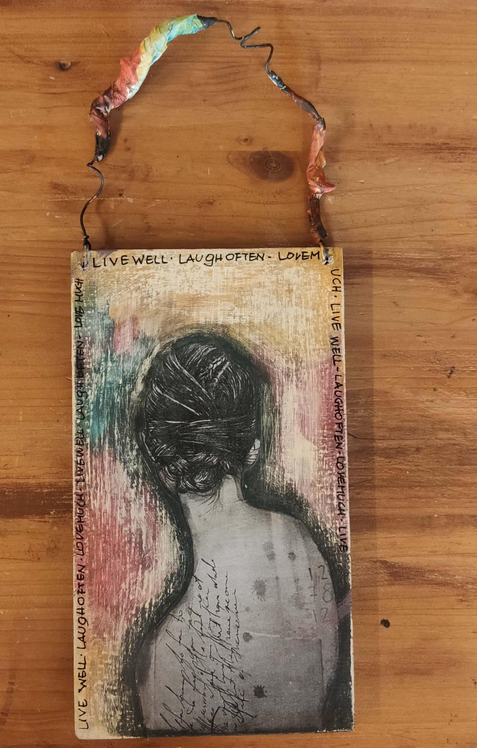 Ξύλινος πίνακας – Wooden board