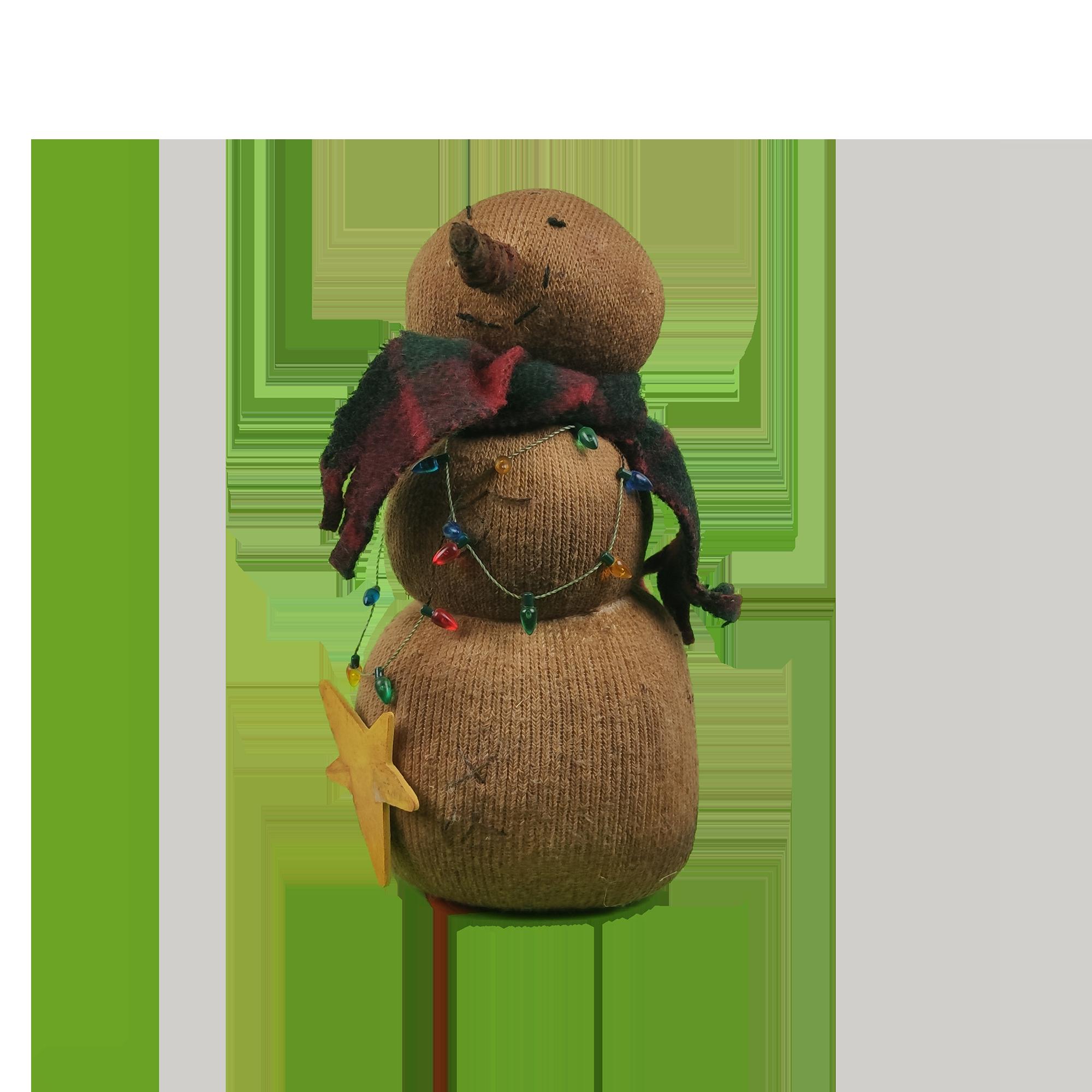 Χιονάνθρωπος κούκλα-Snowman doll